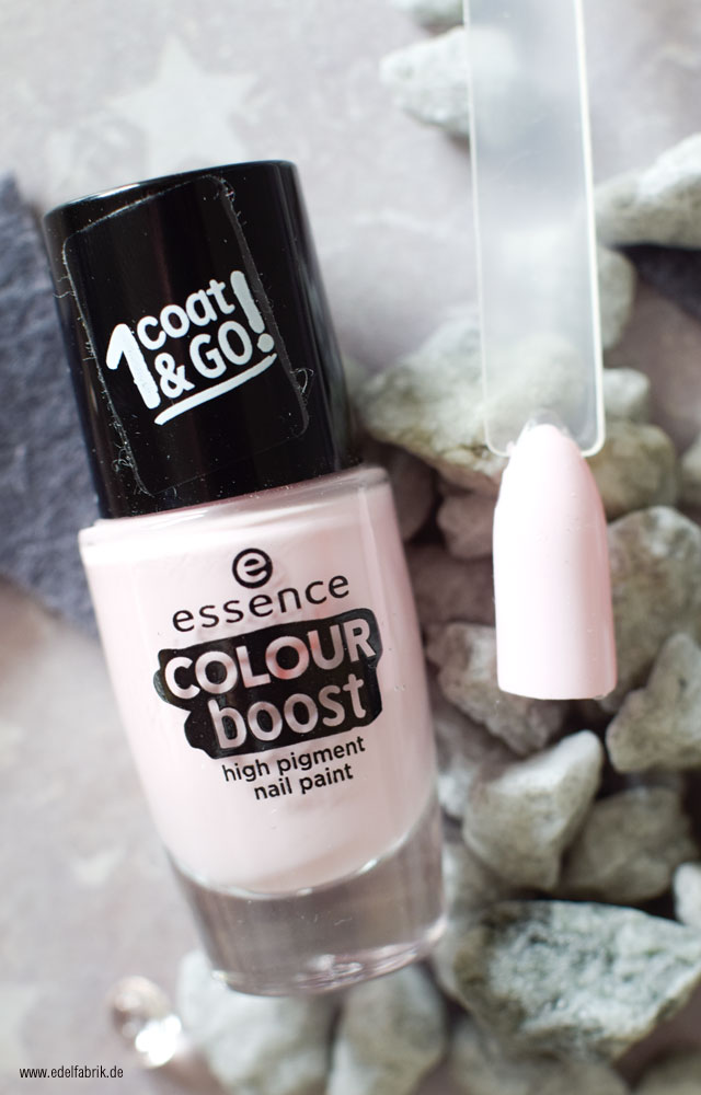 essence color boost / 01 instant friendship, swatch