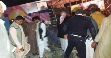 وقوع 6 وفيات ومصابين في حادث اتوبيس مطروح وسيارة نقل