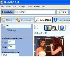 اليكم اقوى برنامج grabjpg v2.7 pro لتحميل الصور برابط مباشر