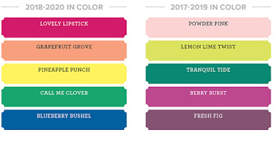 Craftyduckydoodah!, Stampin' Up! UK Independent  Demonstrator Susan Simpson, Colour Revamp 2018, Supplies available 24/7 from my online store,