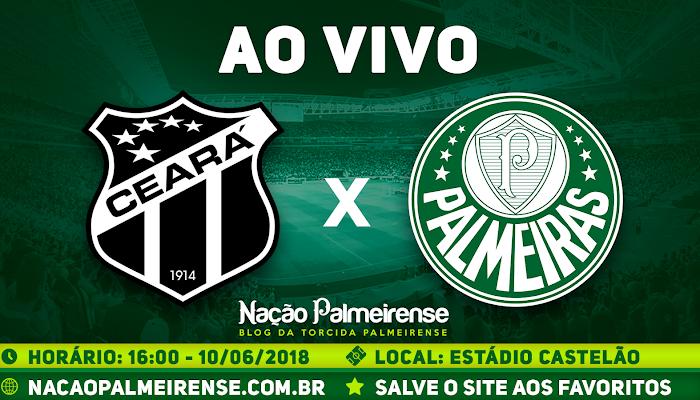 Assistir Ceará x Palmeiras Ao Vivo Online Brasileirão 2018