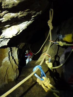 El blog de pon travesia cueva vallina nospotentra lost - Pasamanos de cuerda ...
