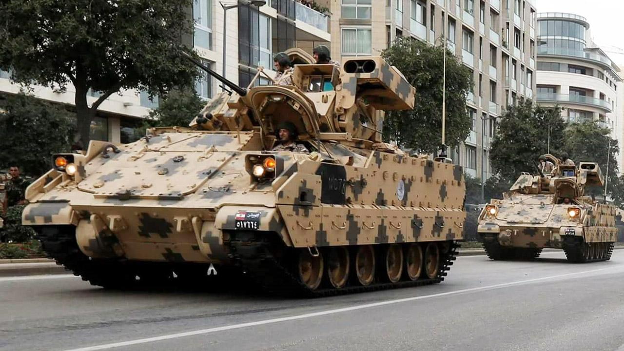 32 БМП ODS M2А2 Bradley з запасів армії США були передані Лівану