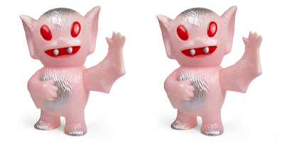 Wonder Con 2019 Exclusive Bat Boy Pink Glow in the Dark Edition Vinyl Figure by Super7