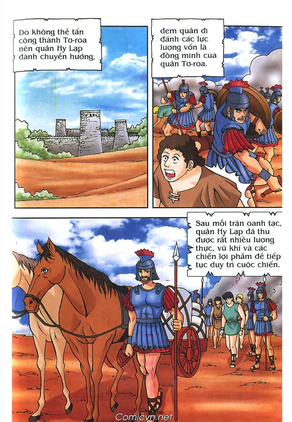 Thần Thoại Hy Lạp Màu - Chapter 56: Hai vị tướng và hai mỹ nữ - Pic 12