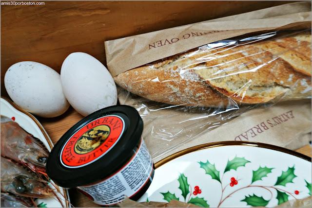 Huevos de Pato, Mantequilla de Trufa y una Barra de Pan