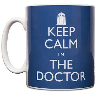 Keep Calm And Carry On I'm The Doctor Who Mug