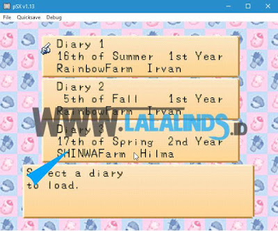 Download Game PC Save Tamat Harvest Moon Back To Nature