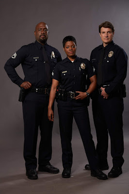 Foto posada do elenco de The Rookie  (Universal TV)