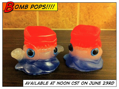 Bomb Pop Goober & Booger Resin Figures by Motorbot