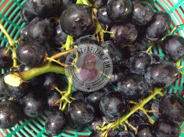 Khasiat Buah Anggur Hitam