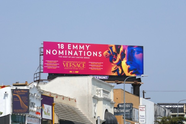 Assassination Versace Emmy nominee billboard