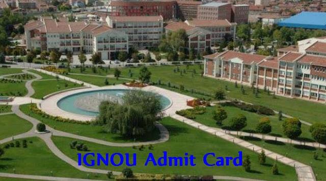 IGNOU Admit Card