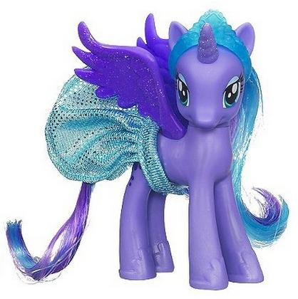 mlp crystal princess ponies collection g4 brushables mlp