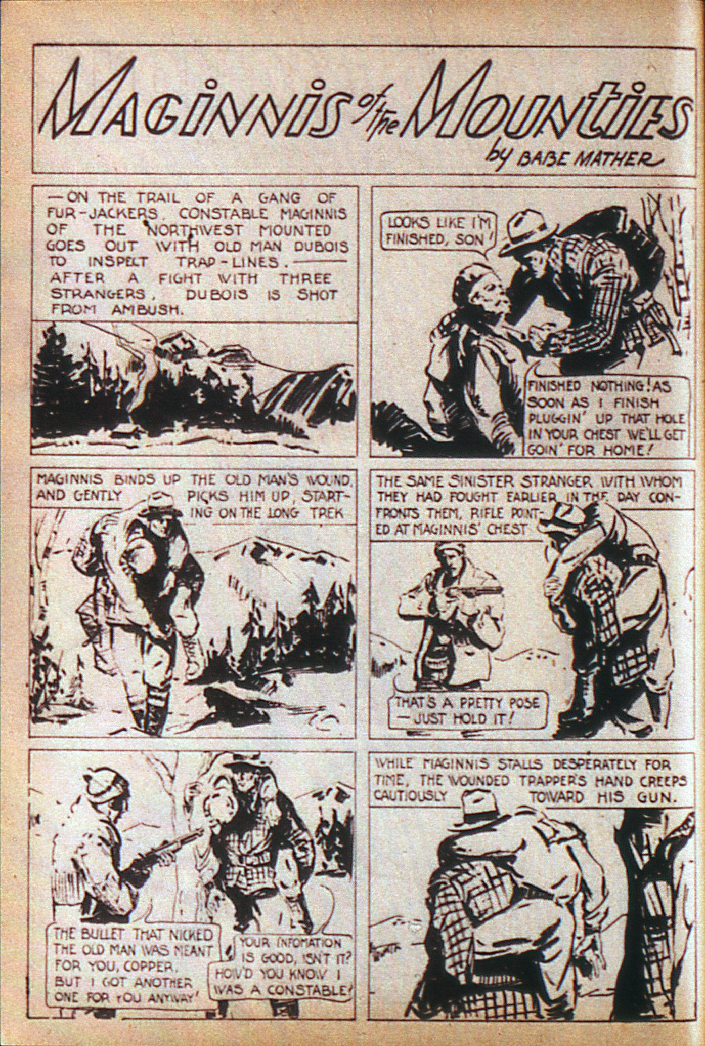Read online Adventure Comics (1938) comic -  Issue #6 - 29