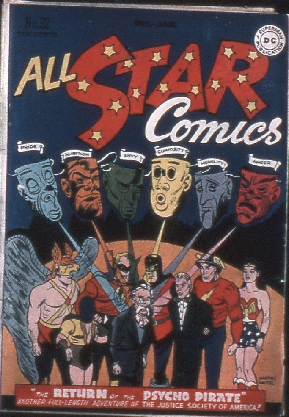 Read online All-Star Comics comic -  Issue #32 - 1
