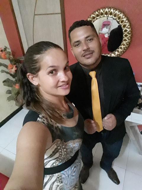 Daniela Tema conta com o apoio do professor Rodrigues e esposa de Capinzal do Norte.