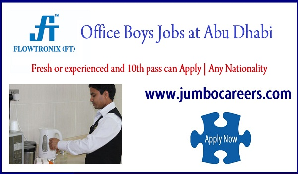 Abu Dhabi office staff jobs for Indians, Recent Abu Dhabi jobs,