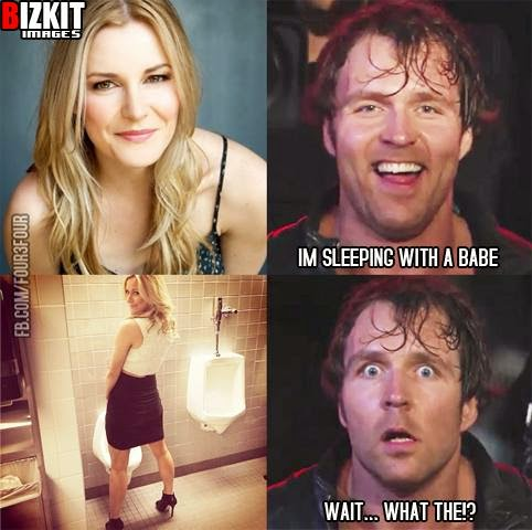 are dean ambrose and paige dating