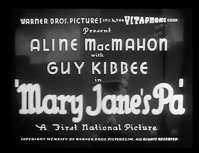 Mary Jane's Pa (1935)