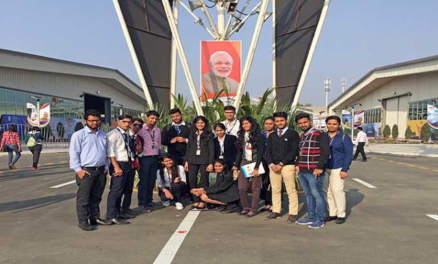 Industrial Visit to Vibrant Gujarat, Ahmedabad