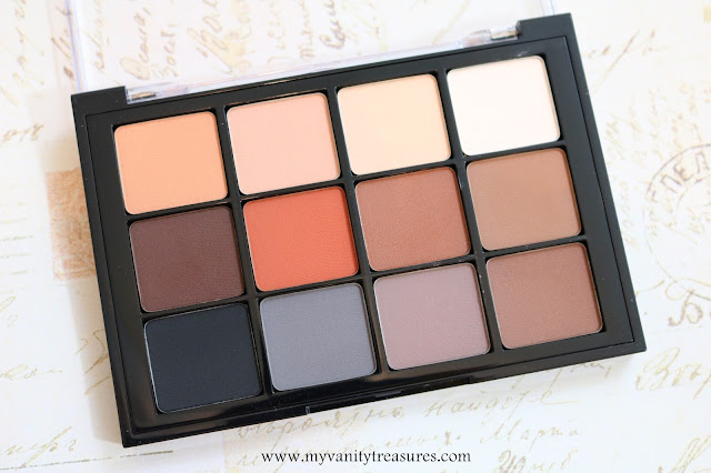 viseart neutral matte palette review