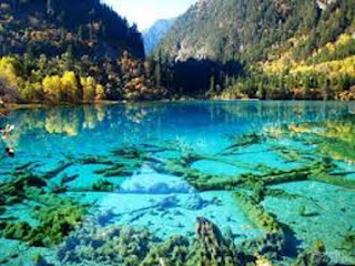 Gambar Wisaha China Jiuzhaigou