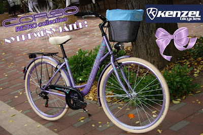 Kenzel kerékpár Nyereményjáték