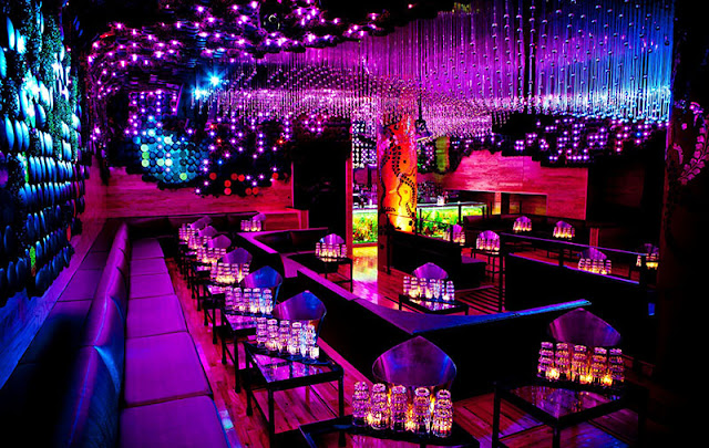Dicas de Las Vegas: O ambiente da Balada Chateau Nightclub and Gardens