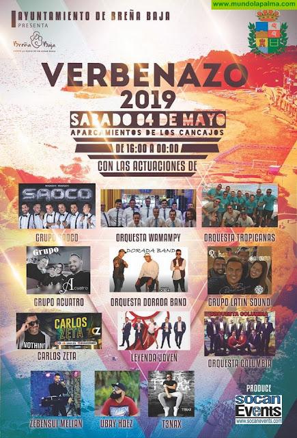 "BREÑA BAJA: ""Verbenazo 2019"""