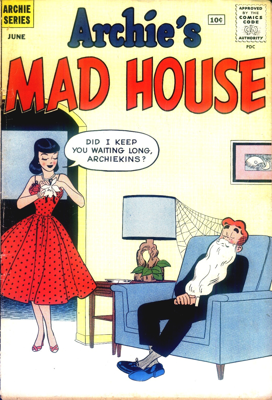 Archie's Madhouse issue 12 - Page 1