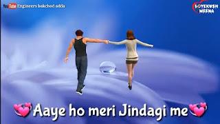 Aaye Ho Meri Zindagi Whatsapp Status Video