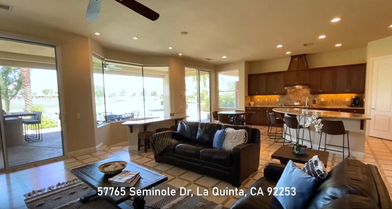 22 Photos vs. PGA West Legends | 57765 Seminole La Quinta CA | FOR SALE - Luxury Home & Interior Design Tour