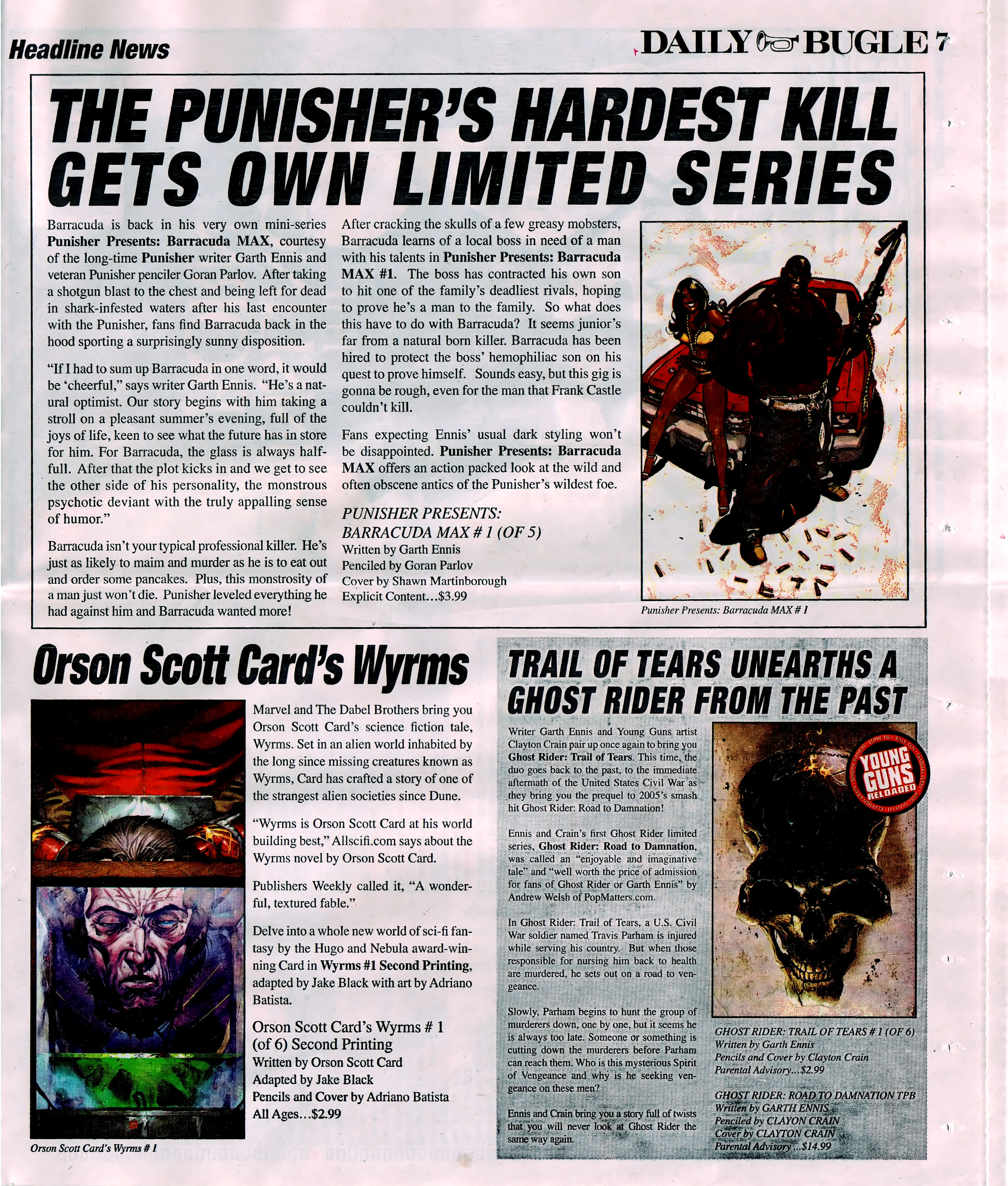 Read online Daily Bugle (2006) comic -  Issue #5 - 7