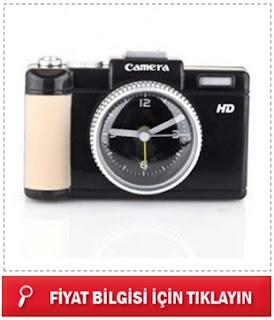 Fotoğraf Makinesi Görünümlü Alarm Saat