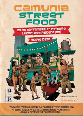 Camunia Street Food  29-30 settembre 1 ottobre Lungolago di Pisogne (BS)