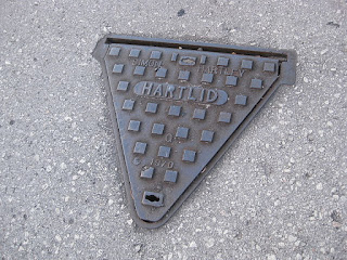 Manhole Cover Cast Iron segitiga