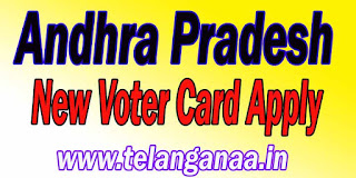 Andhra Pradesh AP Voter id Card E Registration Form 6 Online Apply AP New Voter Card Apply