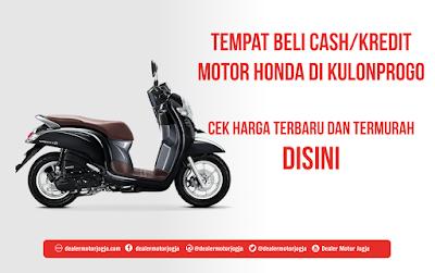 Harga Cash / Kredit Motor Honda di Kulon Progo Murah Terbaru 2018