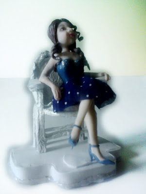 quinceañera porcelana fria