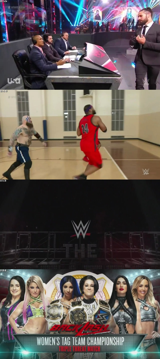 WWE Monday Night Raw 08 June 2020 HDTV 720p 480p 500MB