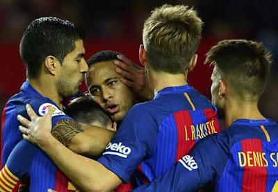 Sevilla 1 – 2 Barcelona [La Liga] Highlights 2016/17 | DOWNLOAD VIDEO