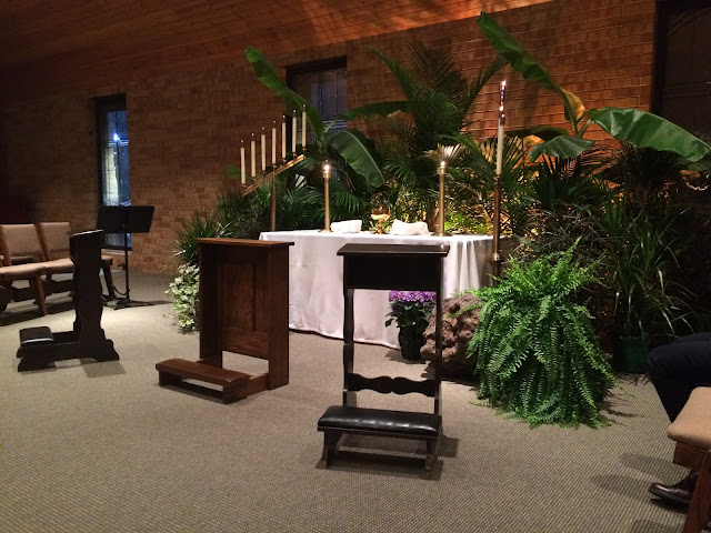 Maundy Thursday adoration, St. Thomas Aquinas, Madison, WI