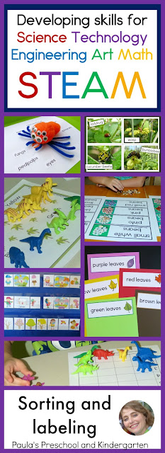 More easy steps for amazing STEAM learning, from Paula's Preschool and Kindergarten
