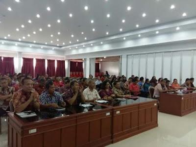 BPK RI Perwakilan Sulut tengah melakukan pemeriksaan di Kabupaten Minahasa.