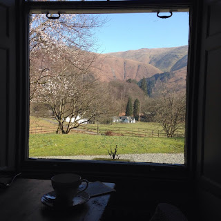 Allan Bank tea room view