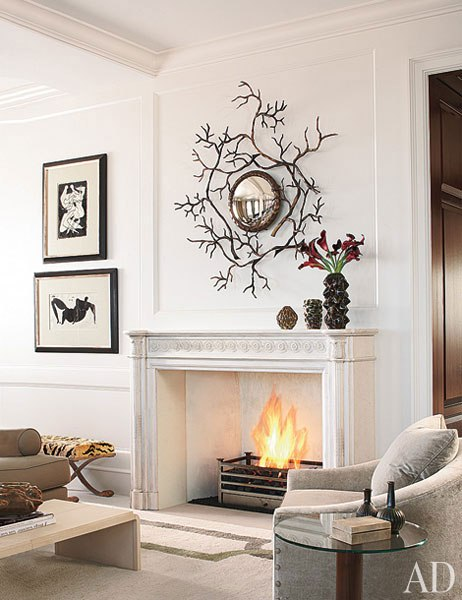 charming fireplace