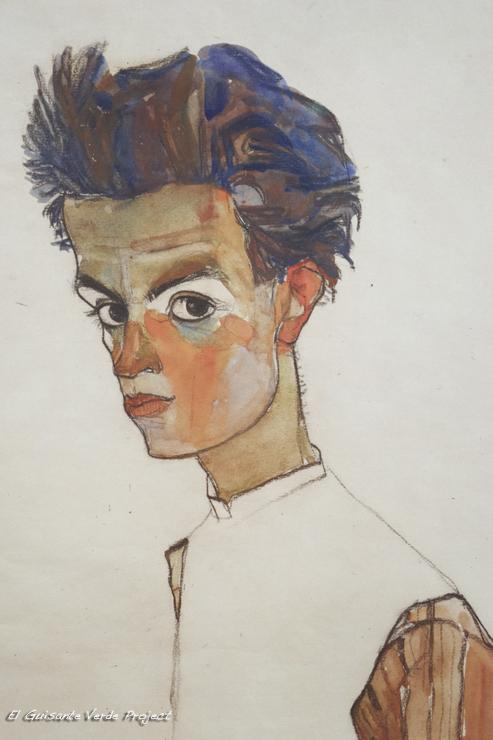 Schiele en el Leopold Museum - Viena, por El Guisante Verde Project