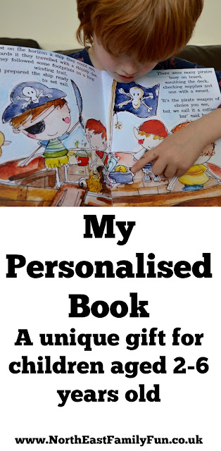 My Personalised Book | A Magical Gift for Children | Handmade in Northumberland