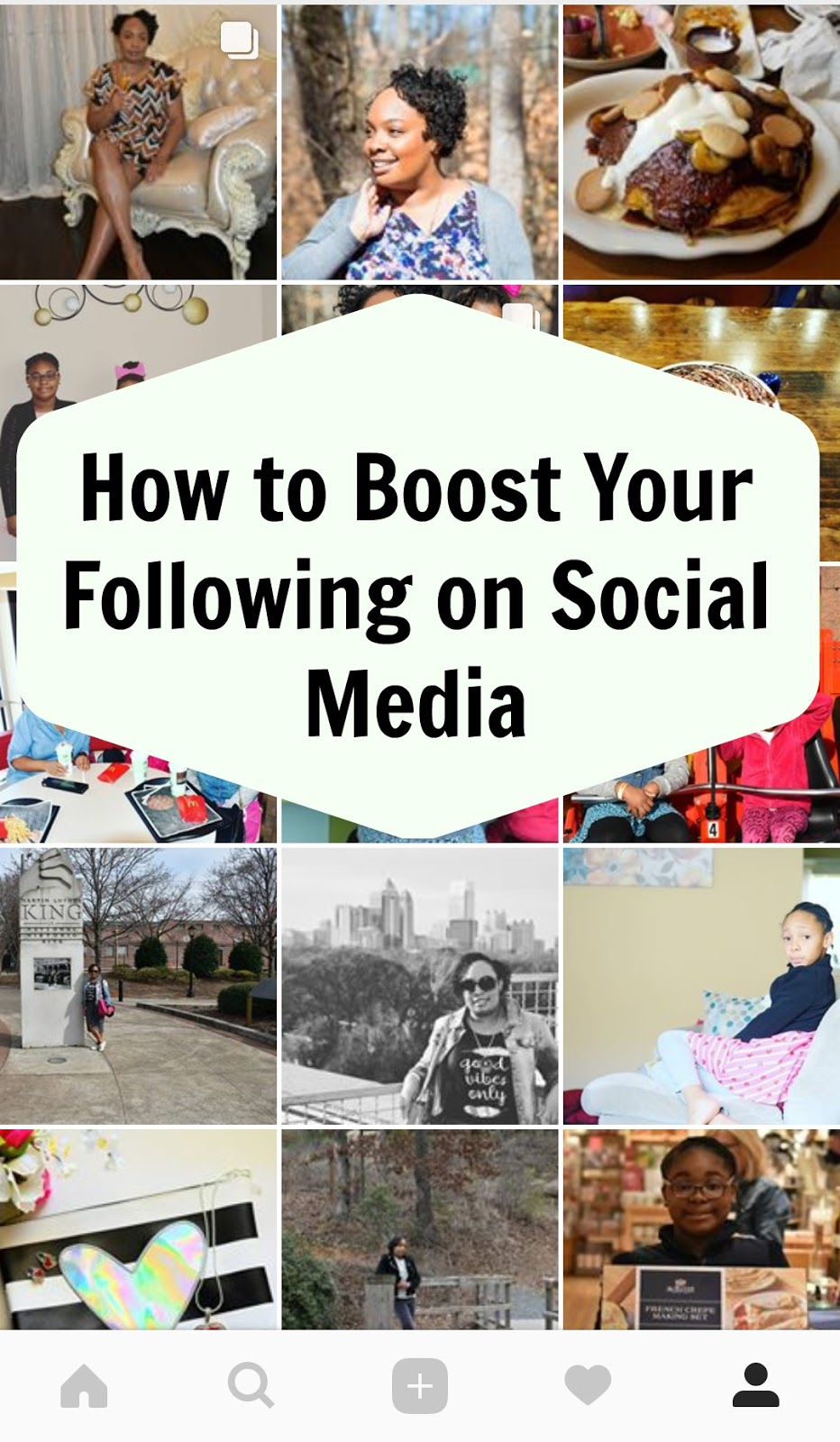 How to Boost Your Following on Social Media  via  www.productreviewmom.com